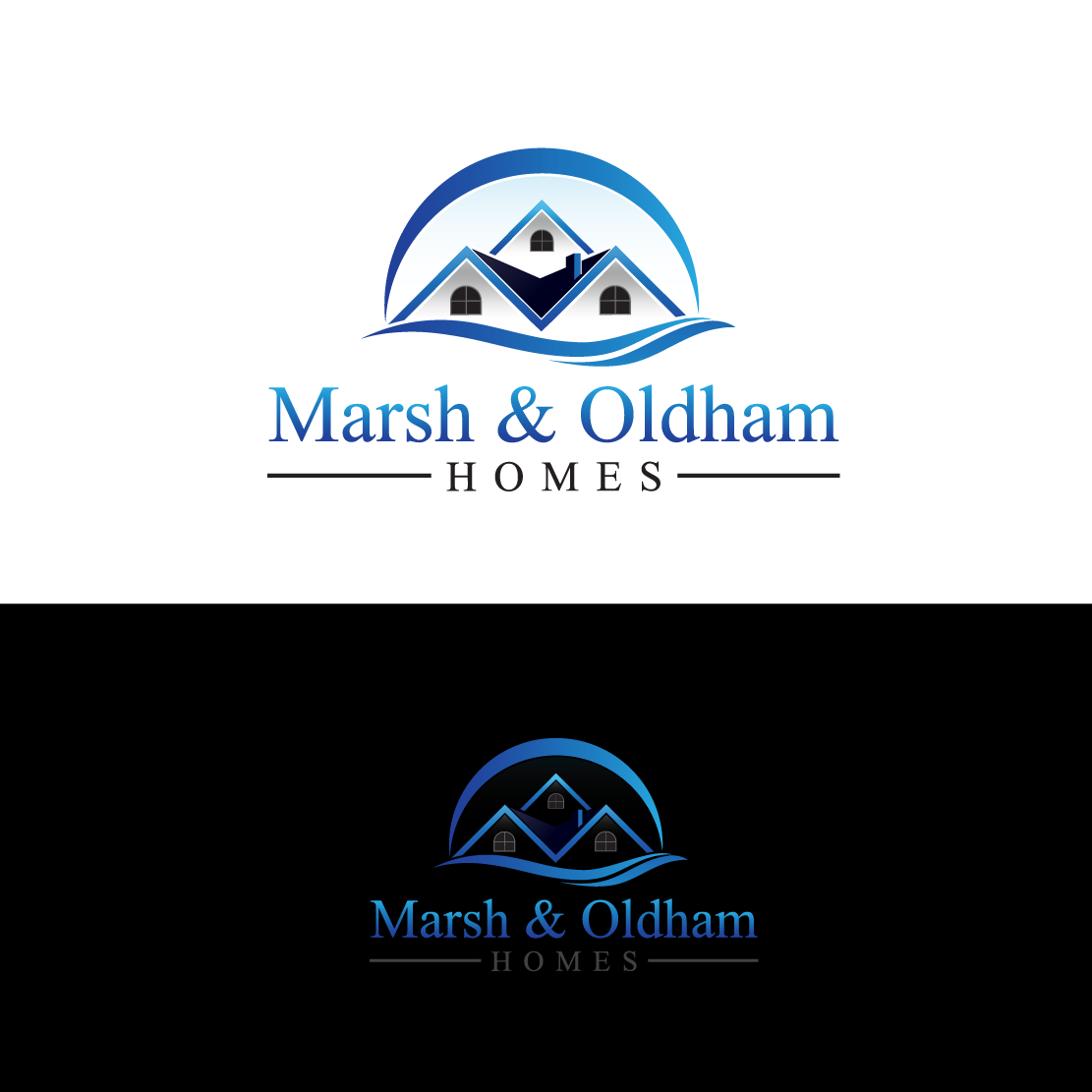 Logo Design by Private User - Entry No. 87 in the Logo Design Contest Artistic Logo Design for Marsh & Oldham Homes.