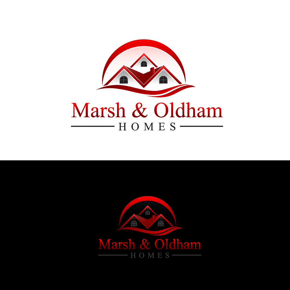 Logo Design by Private User - Entry No. 88 in the Logo Design Contest Artistic Logo Design for Marsh & Oldham Homes.