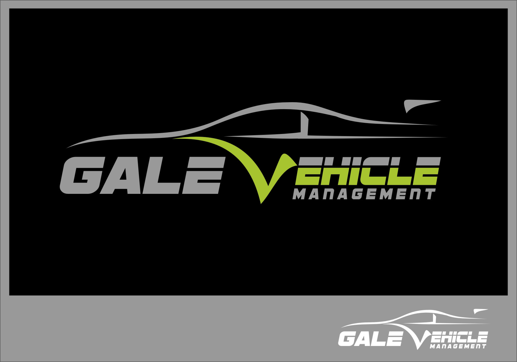 Logo Design by RasYa Muhammad Athaya - Entry No. 93 in the Logo Design Contest Artistic Logo Design for Gale Vehicle Management.