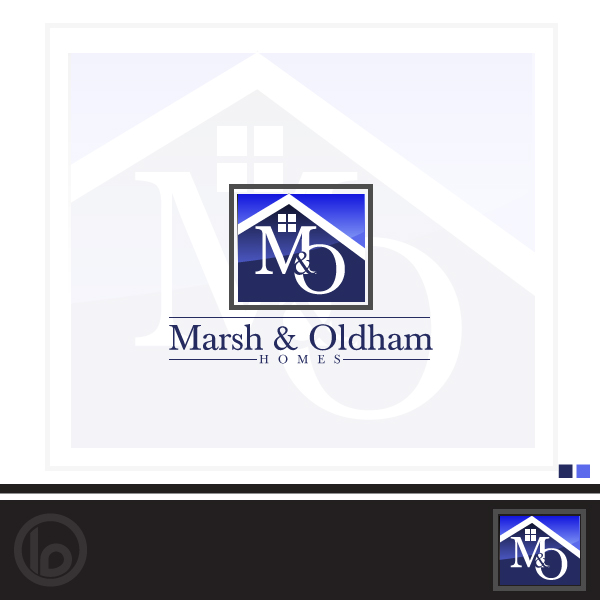 Logo Design by lumerb - Entry No. 92 in the Logo Design Contest Artistic Logo Design for Marsh & Oldham Homes.