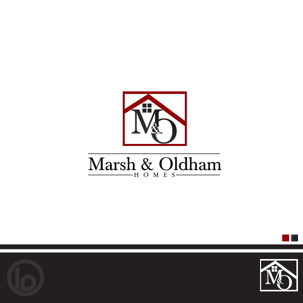 Logo Design by lumerb - Entry No. 93 in the Logo Design Contest Artistic Logo Design for Marsh & Oldham Homes.