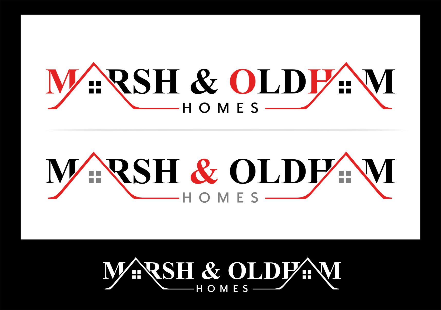 Logo Design by Ngepet_art - Entry No. 94 in the Logo Design Contest Artistic Logo Design for Marsh & Oldham Homes.