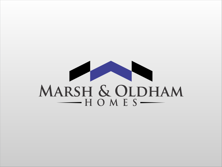 Logo Design by sihanss - Entry No. 98 in the Logo Design Contest Artistic Logo Design for Marsh & Oldham Homes.