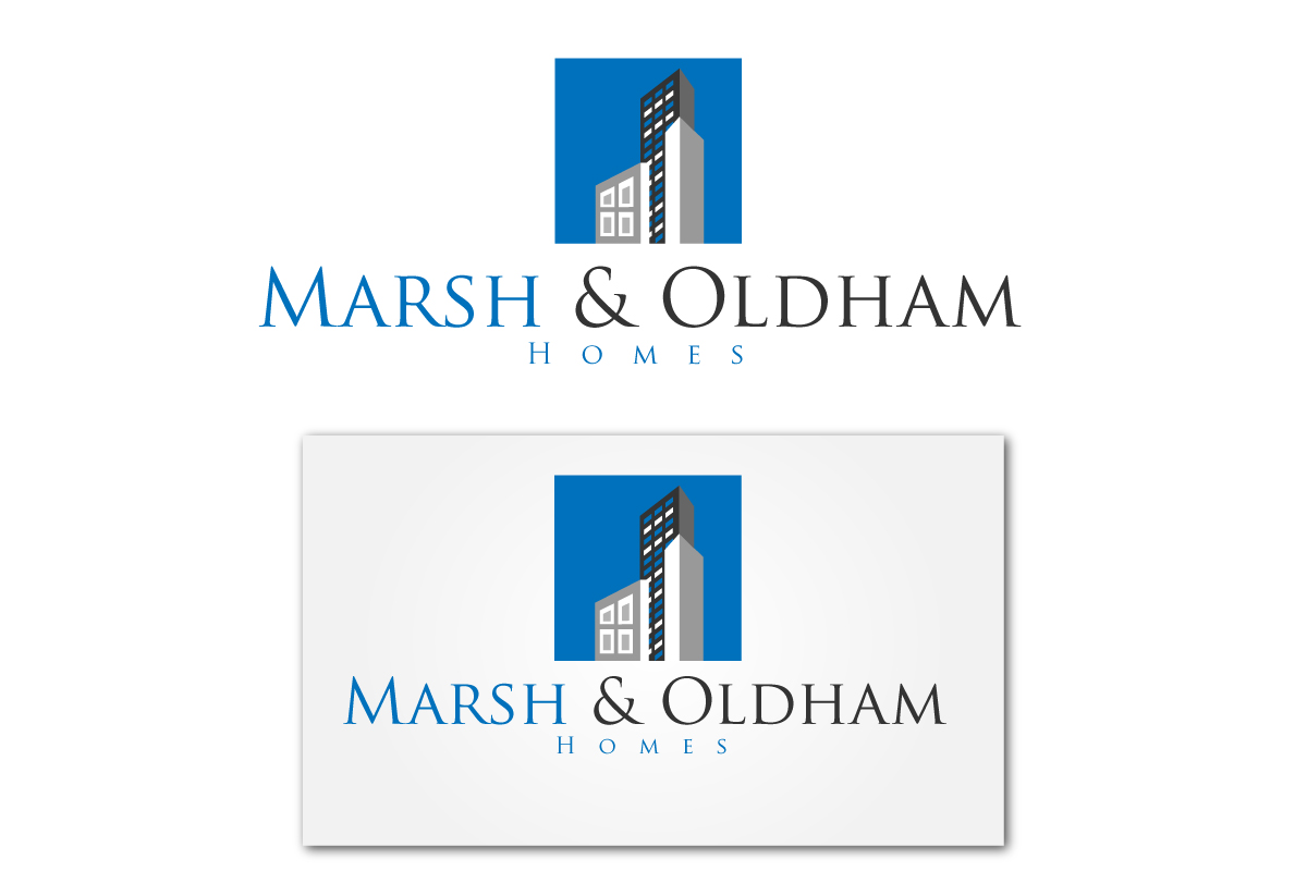 Logo Design by Jagdeep Singh - Entry No. 101 in the Logo Design Contest Artistic Logo Design for Marsh & Oldham Homes.
