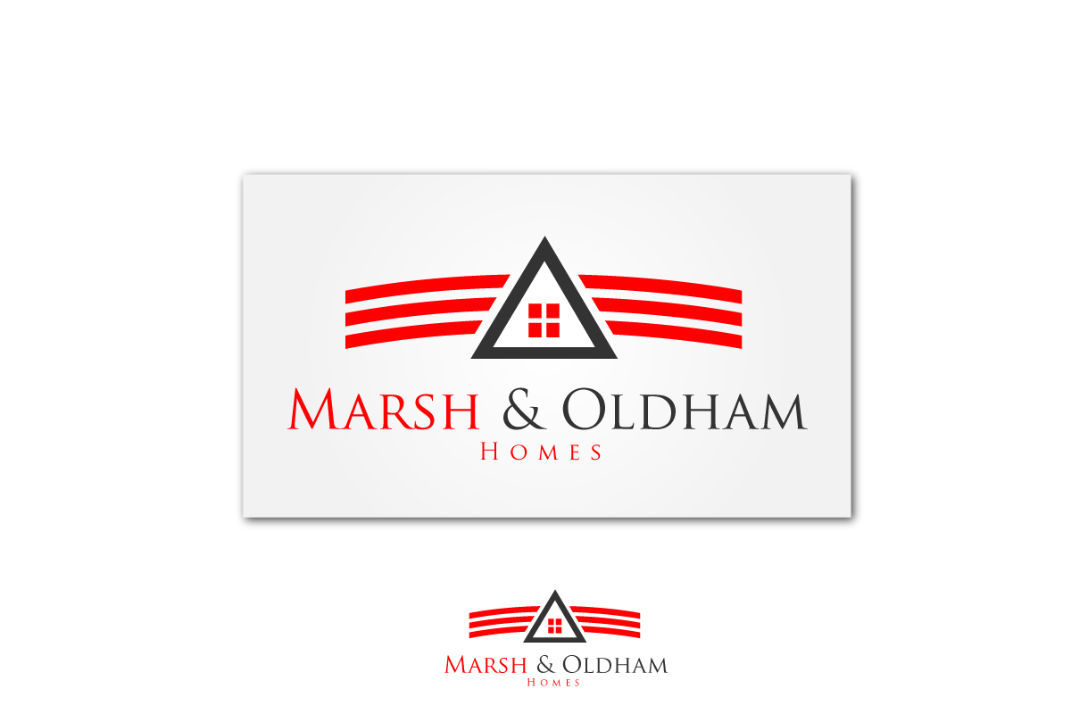 Logo Design by Jagdeep Singh - Entry No. 102 in the Logo Design Contest Artistic Logo Design for Marsh & Oldham Homes.