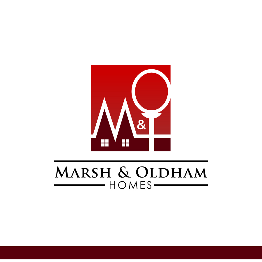 Logo Design by Edward Goodwin - Entry No. 106 in the Logo Design Contest Artistic Logo Design for Marsh & Oldham Homes.