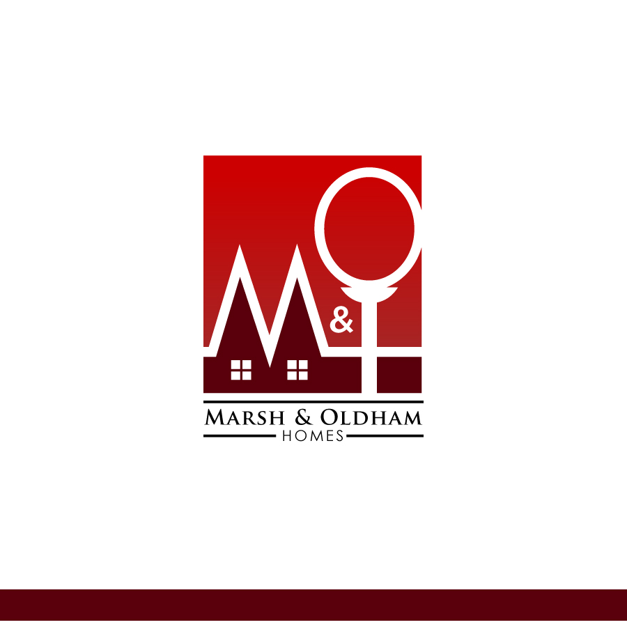 Logo Design by Edward Goodwin - Entry No. 107 in the Logo Design Contest Artistic Logo Design for Marsh & Oldham Homes.