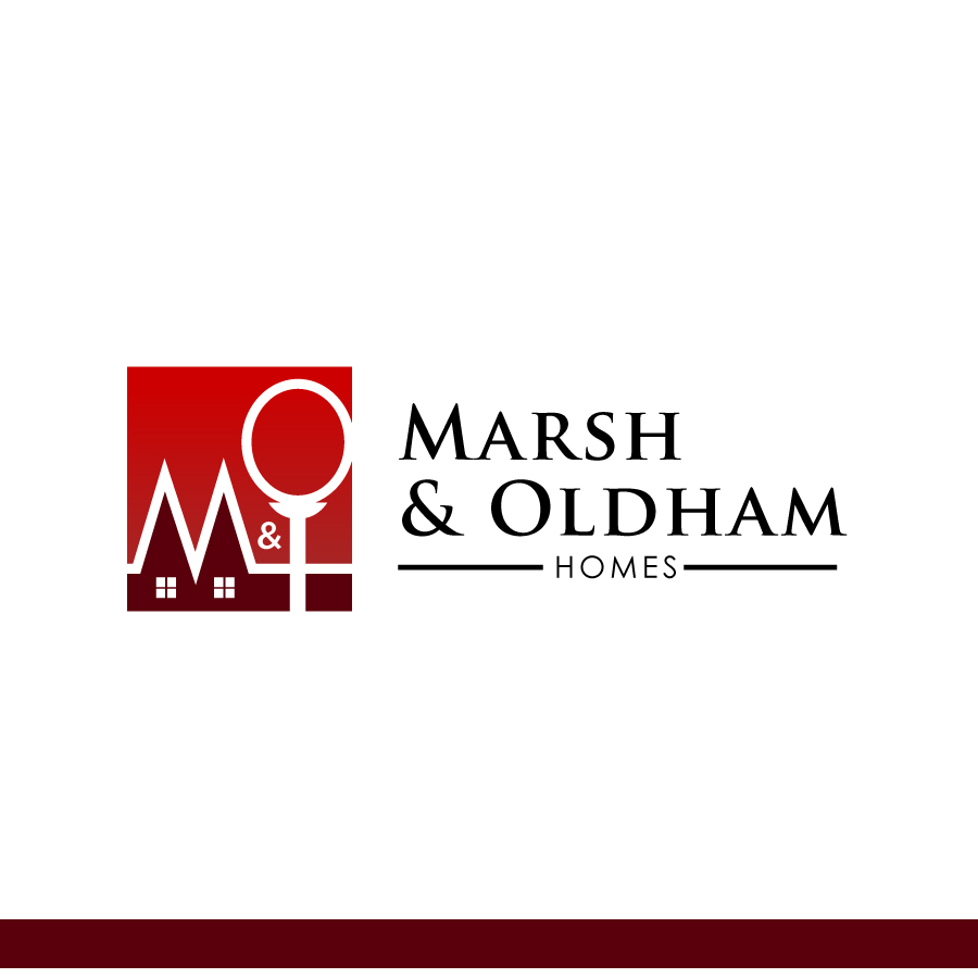 Logo Design by Edward Goodwin - Entry No. 108 in the Logo Design Contest Artistic Logo Design for Marsh & Oldham Homes.