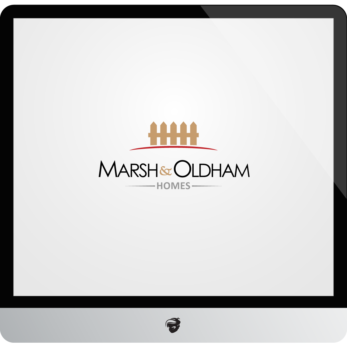 Logo Design by zesthar - Entry No. 110 in the Logo Design Contest Artistic Logo Design for Marsh & Oldham Homes.
