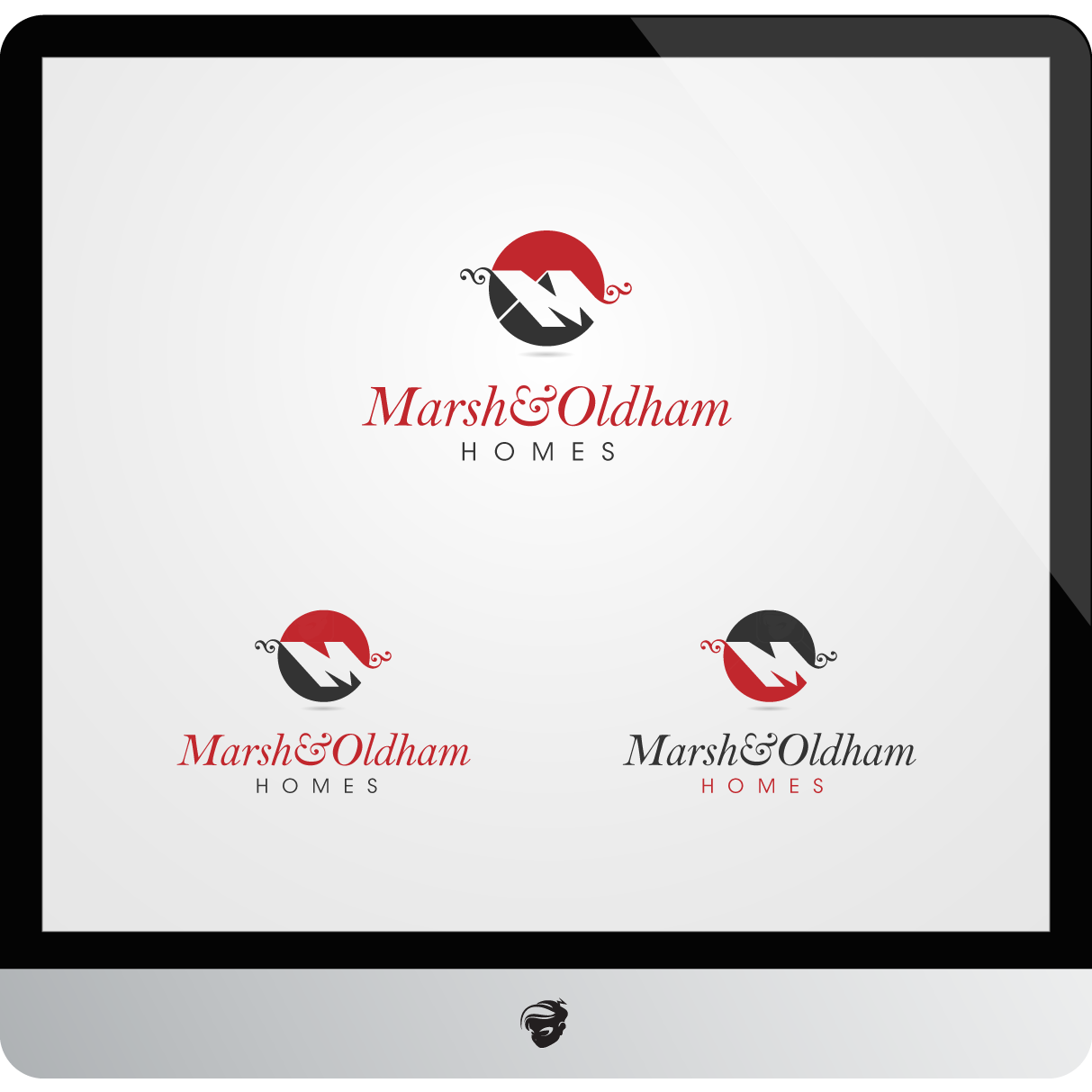 Logo Design by zesthar - Entry No. 112 in the Logo Design Contest Artistic Logo Design for Marsh & Oldham Homes.