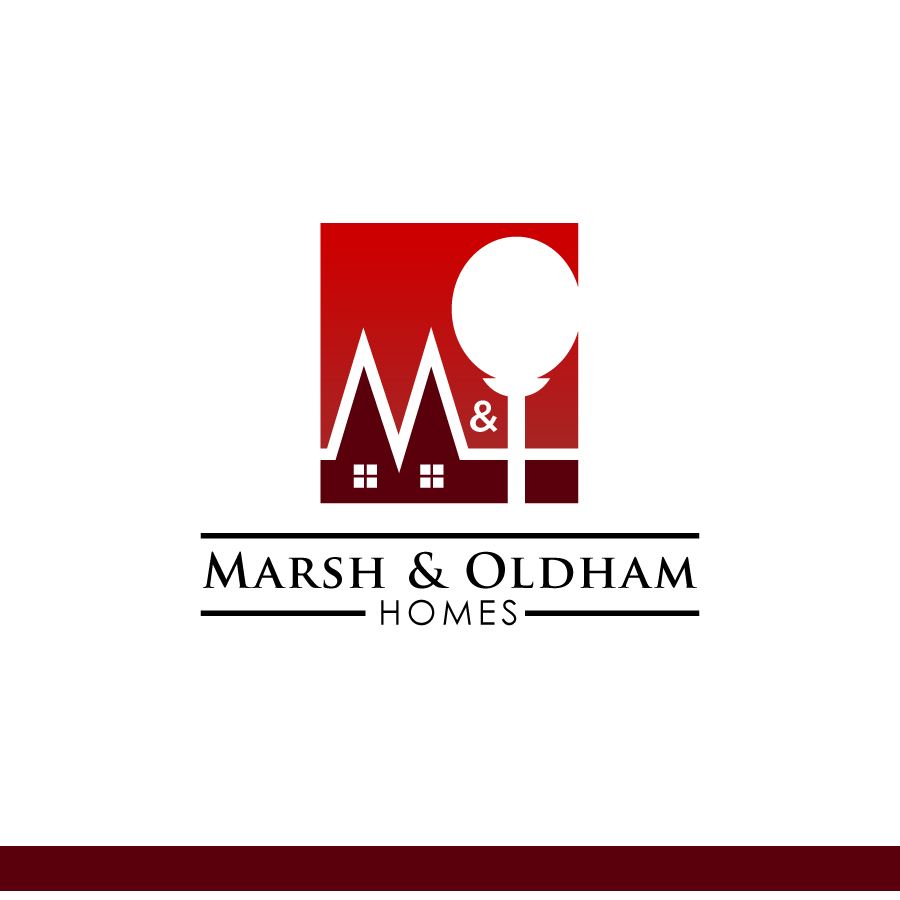 Logo Design by Edward Goodwin - Entry No. 113 in the Logo Design Contest Artistic Logo Design for Marsh & Oldham Homes.