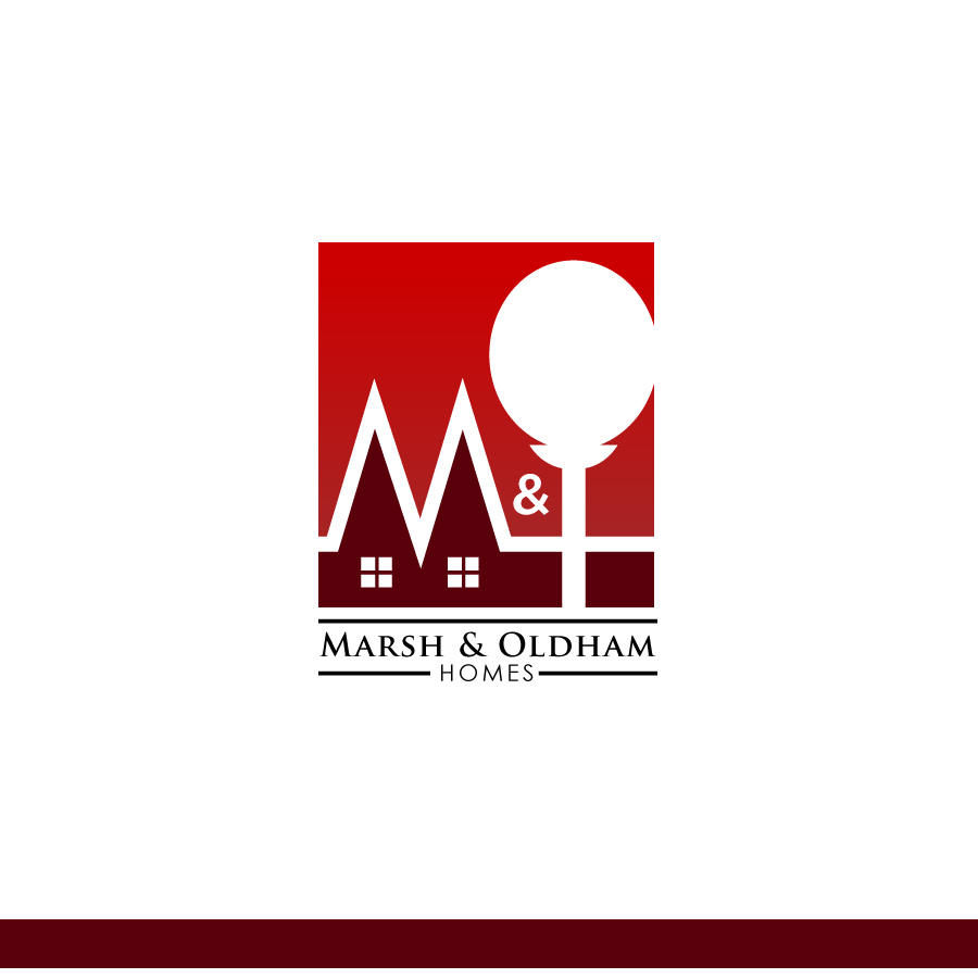 Logo Design by Edward Goodwin - Entry No. 114 in the Logo Design Contest Artistic Logo Design for Marsh & Oldham Homes.