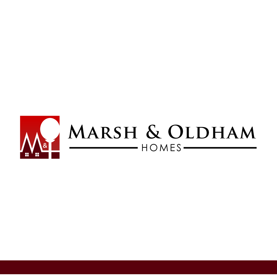 Logo Design by Edward Goodwin - Entry No. 115 in the Logo Design Contest Artistic Logo Design for Marsh & Oldham Homes.