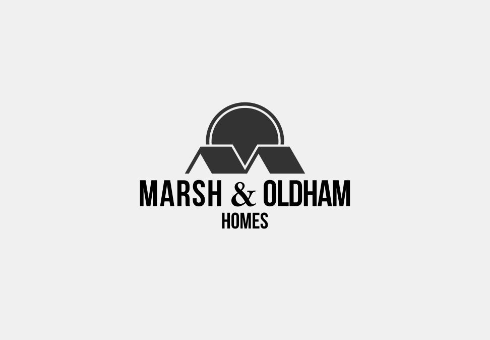 Logo Design by Jorge Sardon - Entry No. 116 in the Logo Design Contest Artistic Logo Design for Marsh & Oldham Homes.