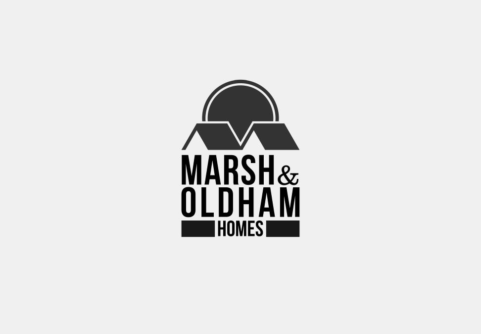 Logo Design by Jorge Sardon - Entry No. 117 in the Logo Design Contest Artistic Logo Design for Marsh & Oldham Homes.