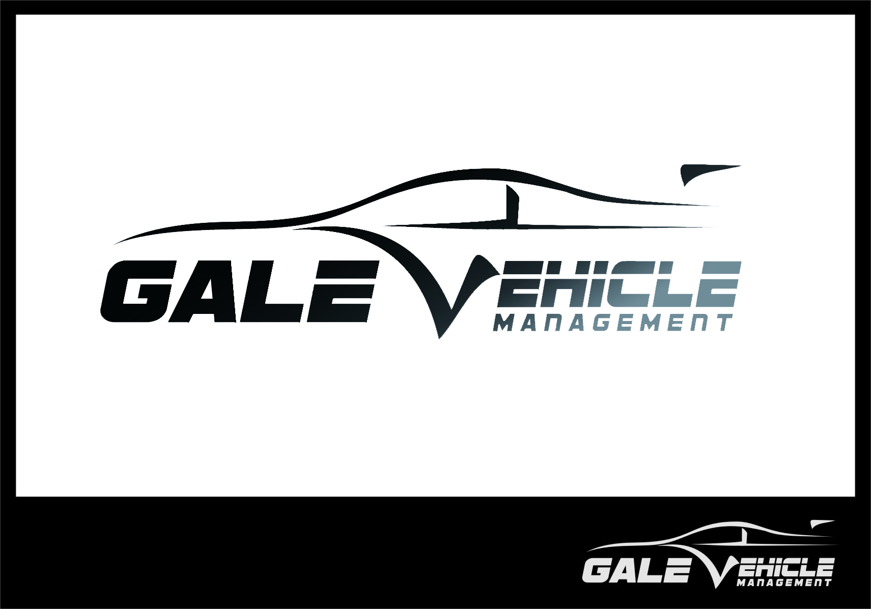 Logo Design by RasYa Muhammad Athaya - Entry No. 118 in the Logo Design Contest Artistic Logo Design for Gale Vehicle Management.