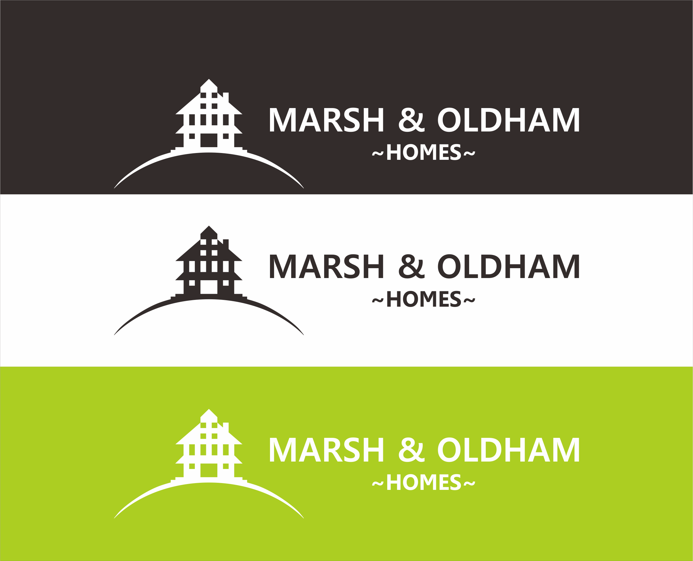 Logo Design by Armada Jamaluddin - Entry No. 123 in the Logo Design Contest Artistic Logo Design for Marsh & Oldham Homes.