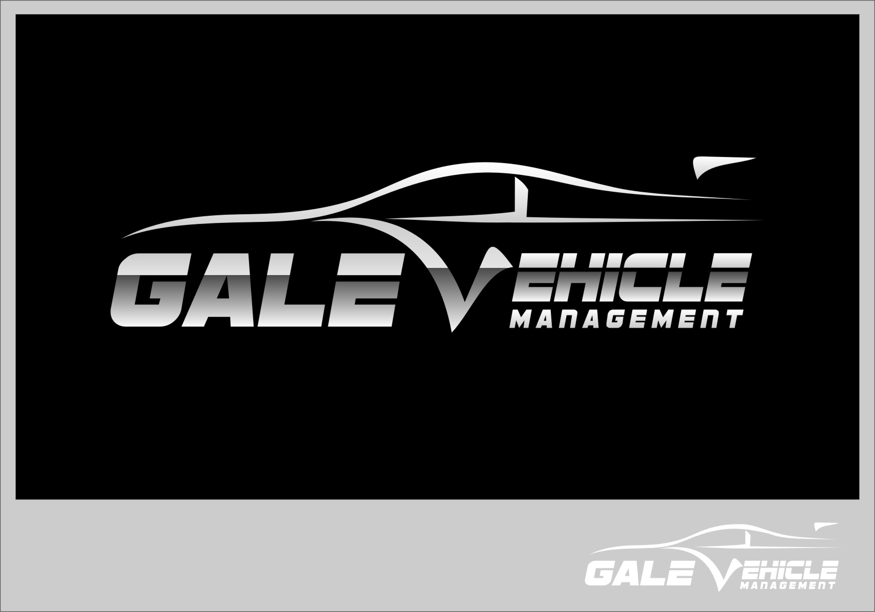 Logo Design by RasYa Muhammad Athaya - Entry No. 119 in the Logo Design Contest Artistic Logo Design for Gale Vehicle Management.