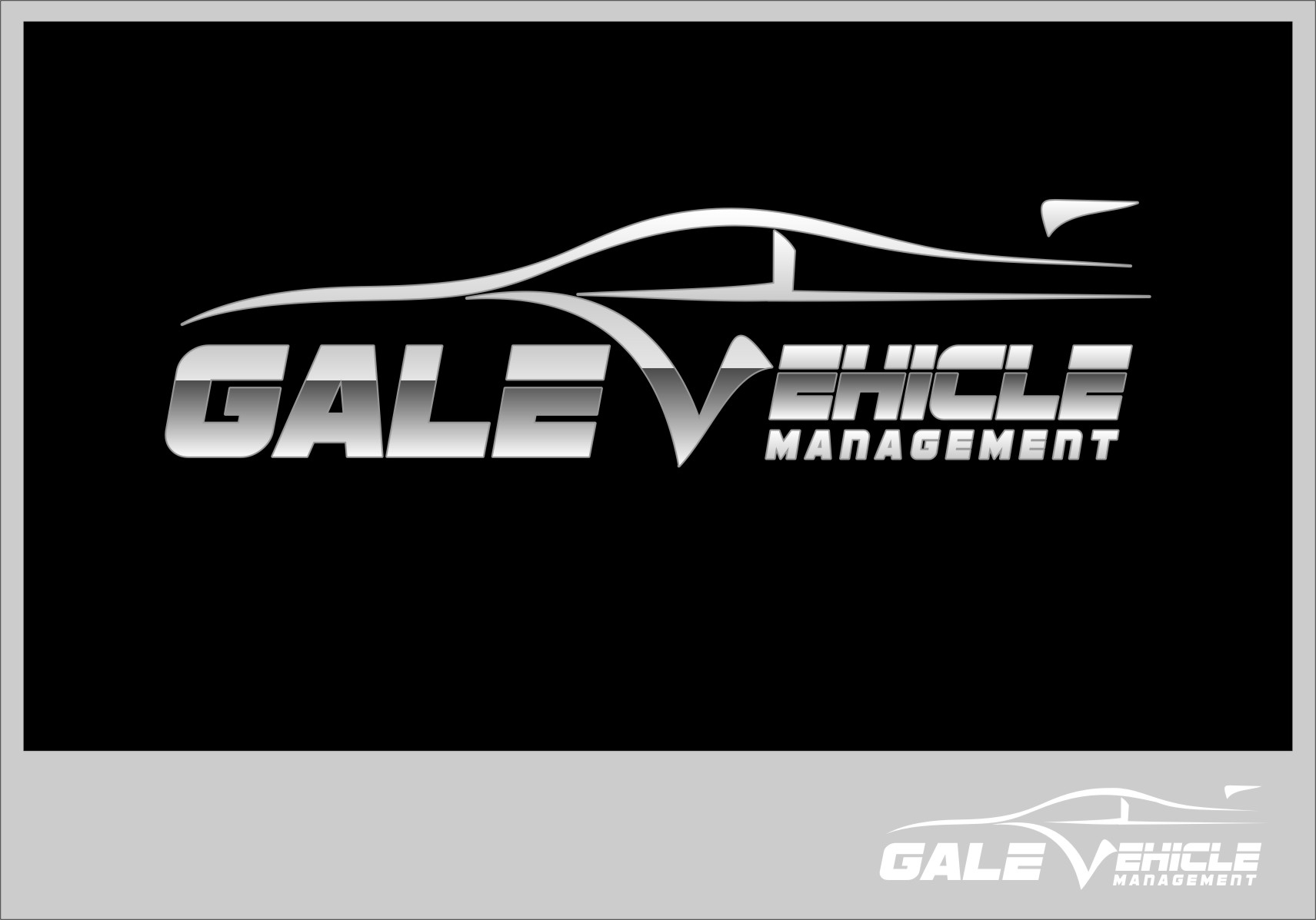 Logo Design by RasYa Muhammad Athaya - Entry No. 120 in the Logo Design Contest Artistic Logo Design for Gale Vehicle Management.