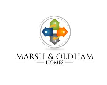 Logo Design by Muhammad Sopandi - Entry No. 125 in the Logo Design Contest Artistic Logo Design for Marsh & Oldham Homes.