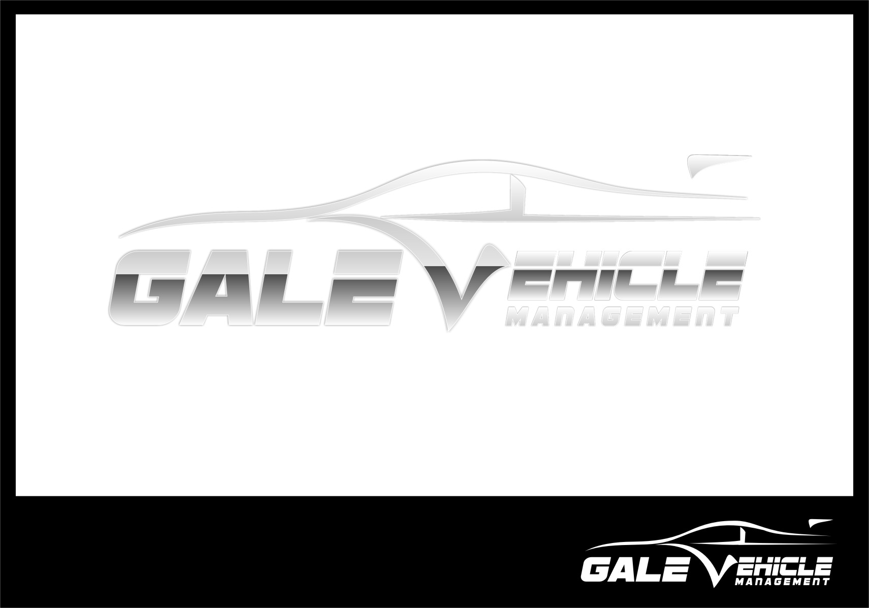 Logo Design by Ngepet_art - Entry No. 121 in the Logo Design Contest Artistic Logo Design for Gale Vehicle Management.