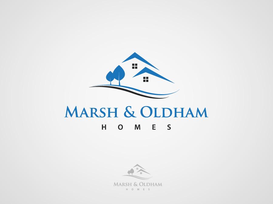 Logo Design by jpbituin - Entry No. 130 in the Logo Design Contest Artistic Logo Design for Marsh & Oldham Homes.