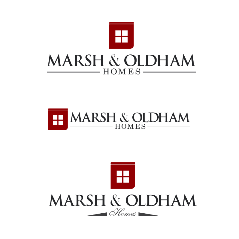 Logo Design by moisesf - Entry No. 131 in the Logo Design Contest Artistic Logo Design for Marsh & Oldham Homes.
