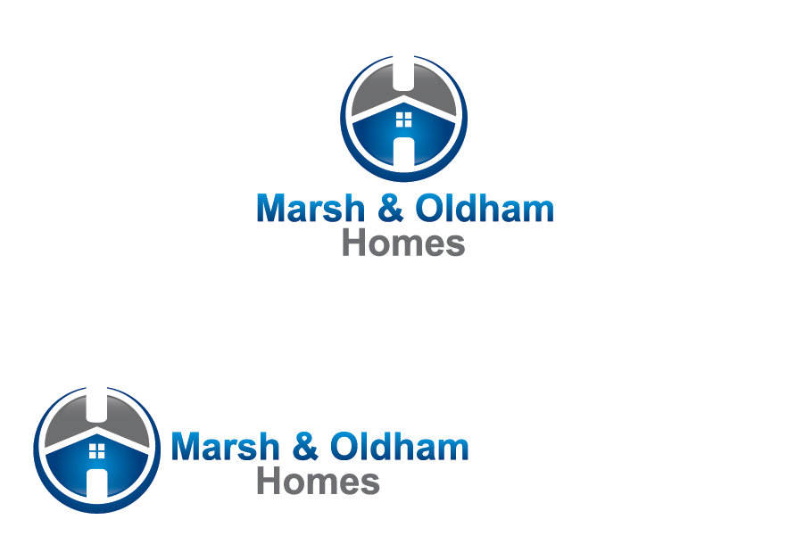 Logo Design by Private User - Entry No. 134 in the Logo Design Contest Artistic Logo Design for Marsh & Oldham Homes.