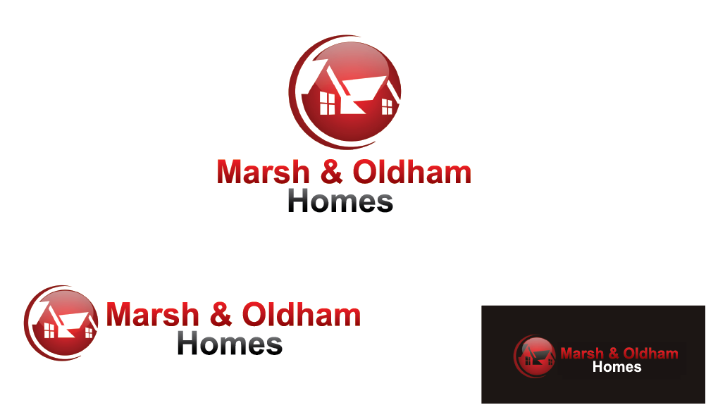Logo Design by Muhammad Moeen - Entry No. 136 in the Logo Design Contest Artistic Logo Design for Marsh & Oldham Homes.