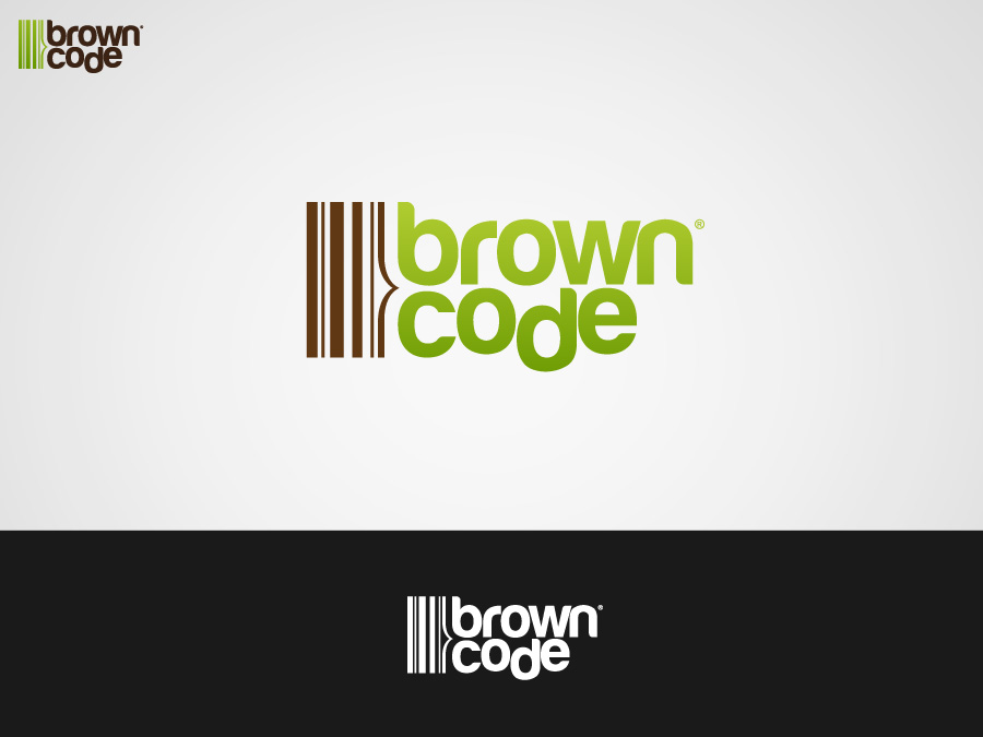 Logo Design by jpbituin - Entry No. 7 in the Logo Design Contest New Logo Design for Brown Code.