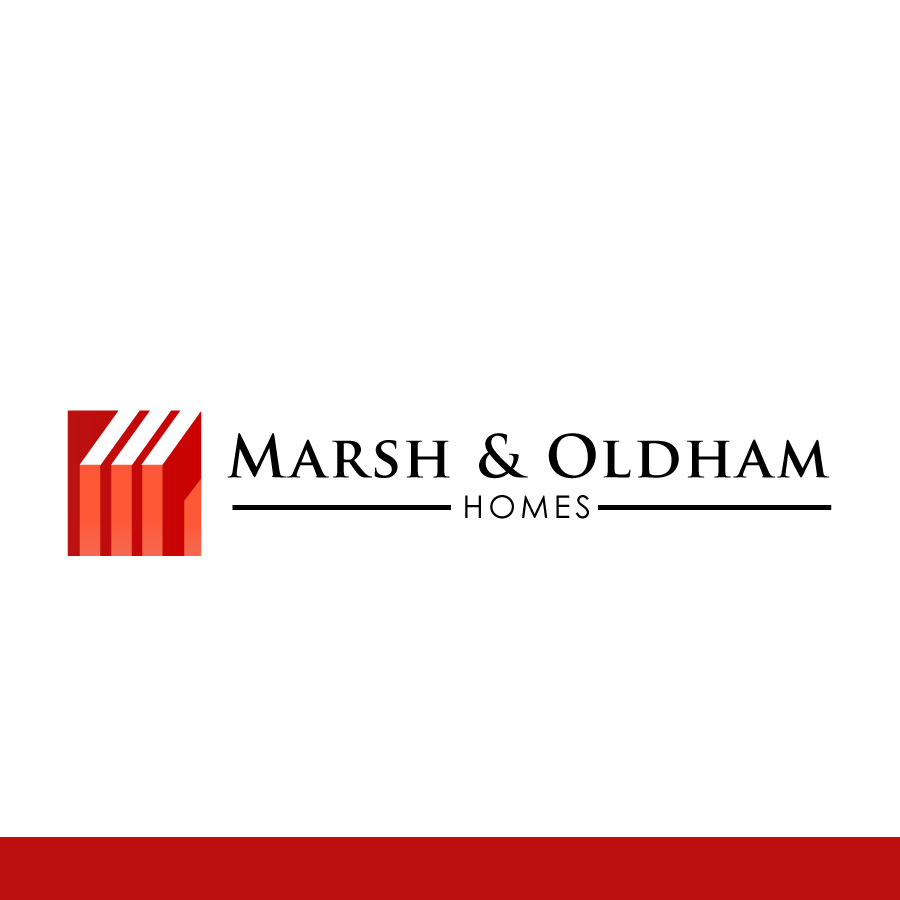 Logo Design by Edward Goodwin - Entry No. 139 in the Logo Design Contest Artistic Logo Design for Marsh & Oldham Homes.