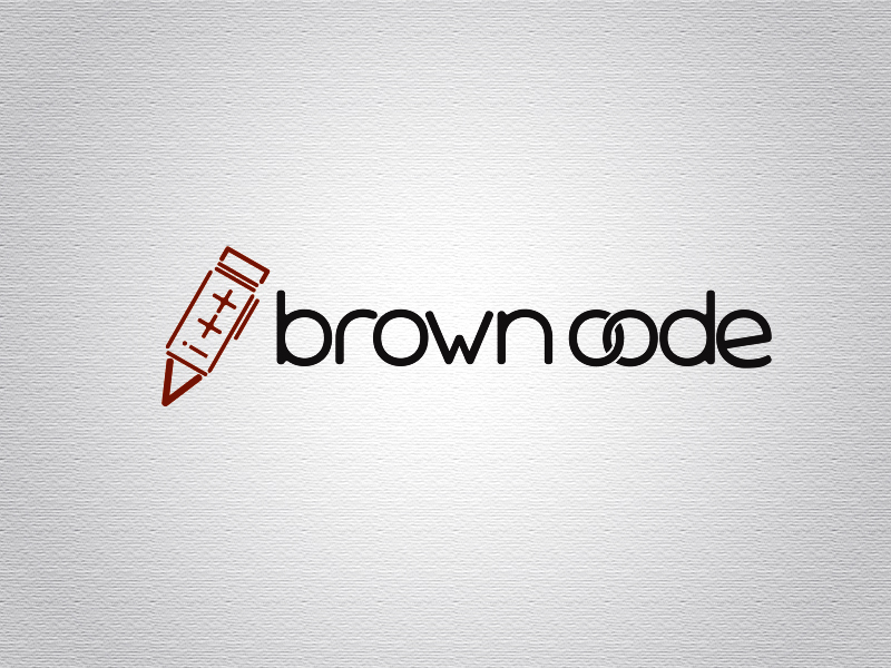 Logo Design by Mythos Designs - Entry No. 16 in the Logo Design Contest New Logo Design for Brown Code.