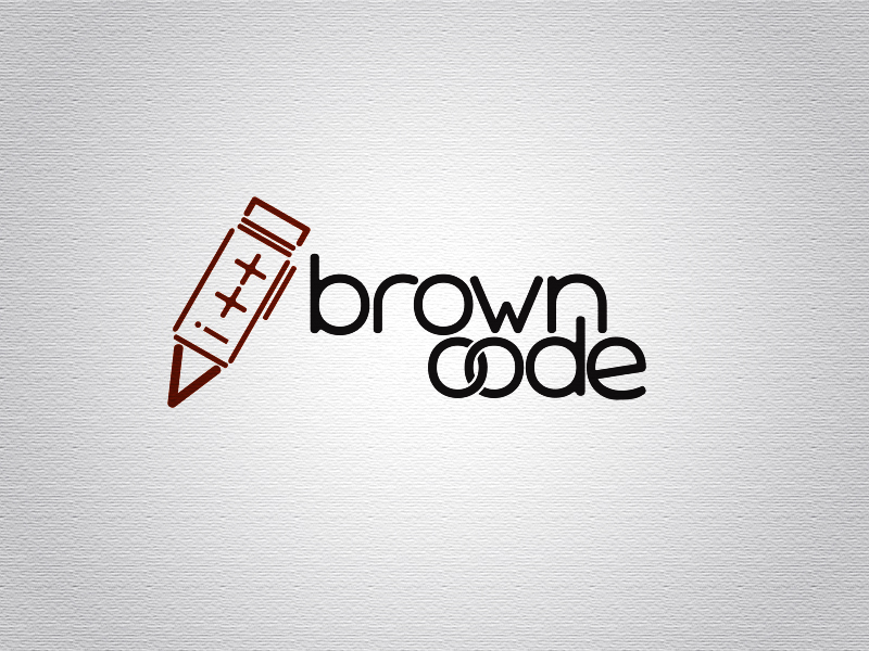 Logo Design by Mythos Designs - Entry No. 17 in the Logo Design Contest New Logo Design for Brown Code.