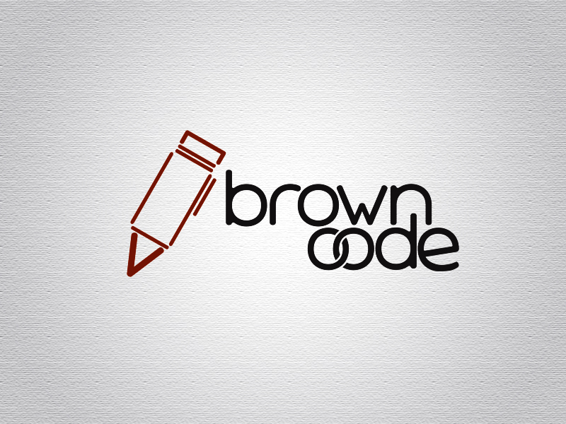 Logo Design by Mythos Designs - Entry No. 18 in the Logo Design Contest New Logo Design for Brown Code.