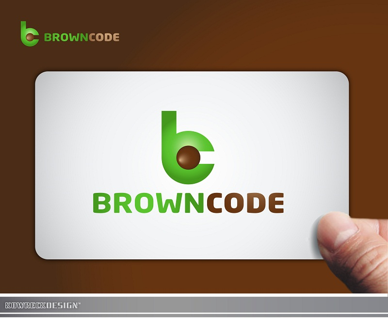 Logo Design by kowreck - Entry No. 19 in the Logo Design Contest New Logo Design for Brown Code.