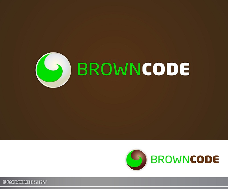 Logo Design by kowreck - Entry No. 21 in the Logo Design Contest New Logo Design for Brown Code.