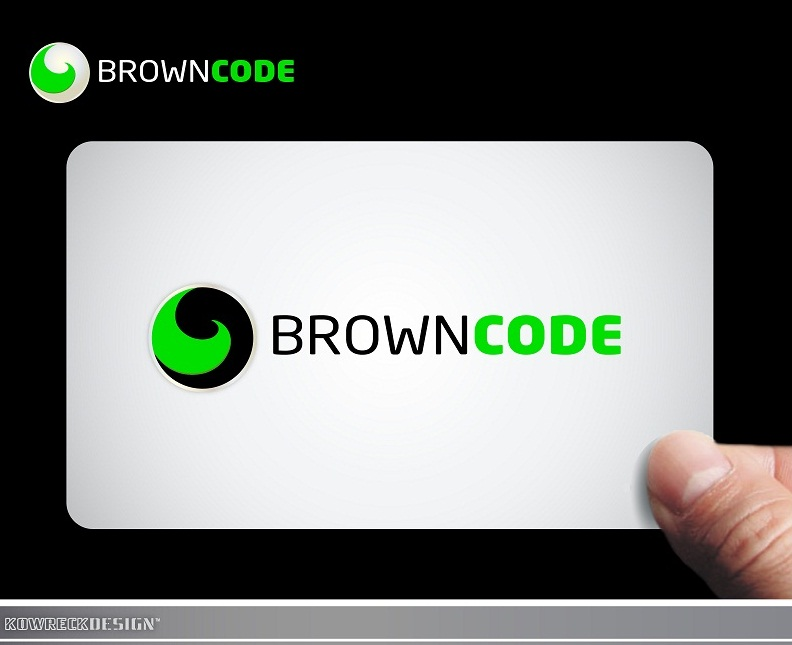 Logo Design by kowreck - Entry No. 23 in the Logo Design Contest New Logo Design for Brown Code.