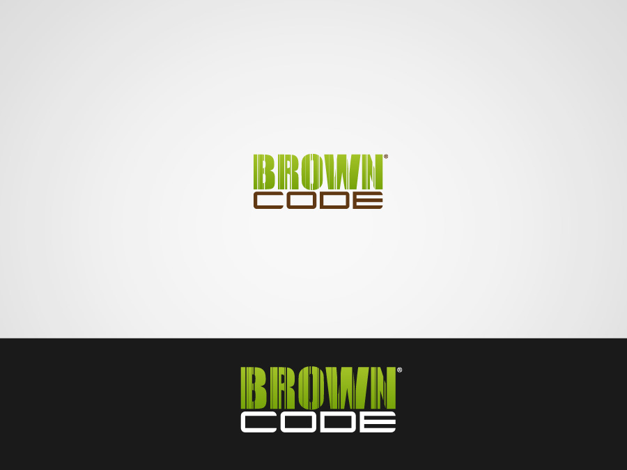 Logo Design by jpbituin - Entry No. 24 in the Logo Design Contest New Logo Design for Brown Code.