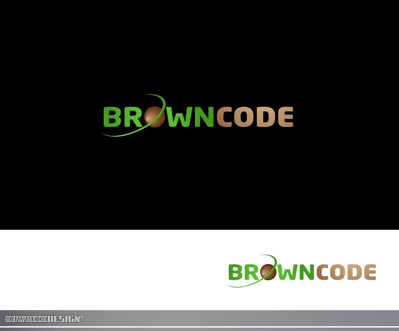 Logo Design by kowreck - Entry No. 25 in the Logo Design Contest New Logo Design for Brown Code.