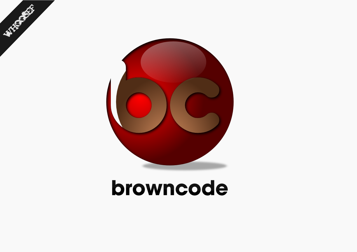 Logo Design by whoosef - Entry No. 27 in the Logo Design Contest New Logo Design for Brown Code.