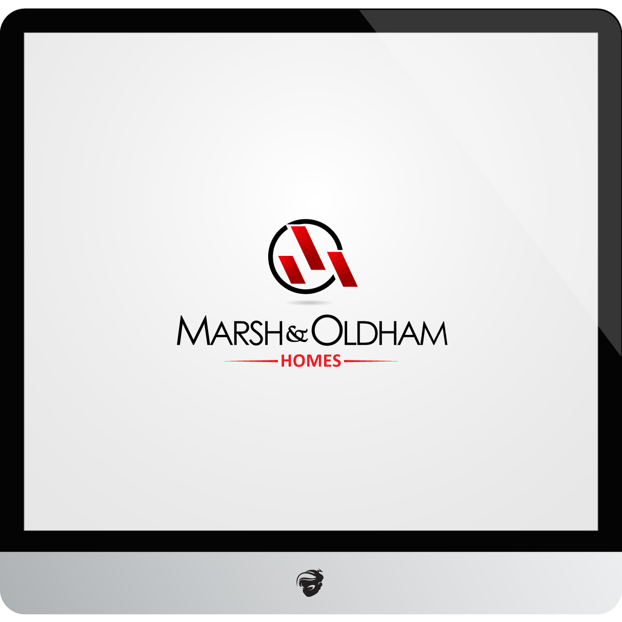 Logo Design by zesthar - Entry No. 143 in the Logo Design Contest Artistic Logo Design for Marsh & Oldham Homes.