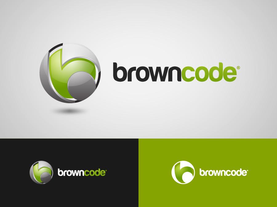 Logo Design by jpbituin - Entry No. 30 in the Logo Design Contest New Logo Design for Brown Code.