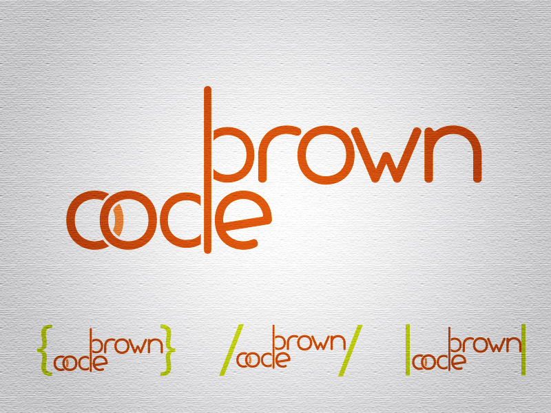 Logo Design by Mythos Designs - Entry No. 31 in the Logo Design Contest New Logo Design for Brown Code.