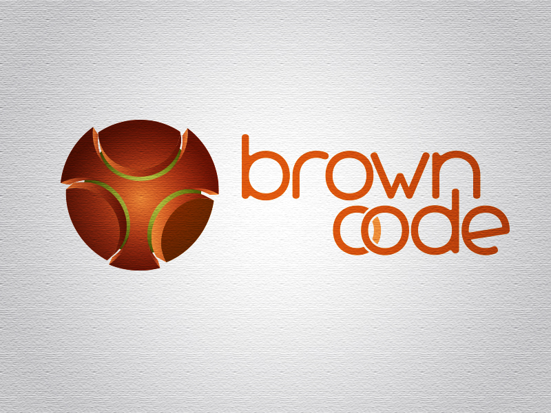 Logo Design by Mythos Designs - Entry No. 32 in the Logo Design Contest New Logo Design for Brown Code.