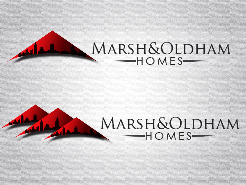 Logo Design by Mythos Designs - Entry No. 145 in the Logo Design Contest Artistic Logo Design for Marsh & Oldham Homes.