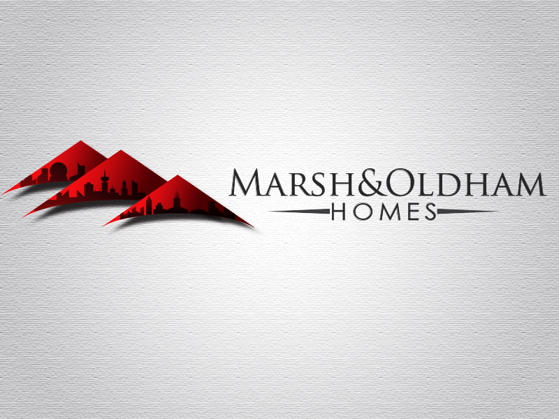 Logo Design by Mythos Designs - Entry No. 146 in the Logo Design Contest Artistic Logo Design for Marsh & Oldham Homes.