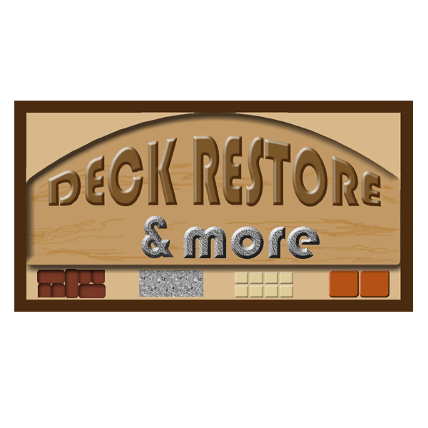 Logo Design by pressman54 - Entry No. 69 in the Logo Design Contest Deck Restore & More.