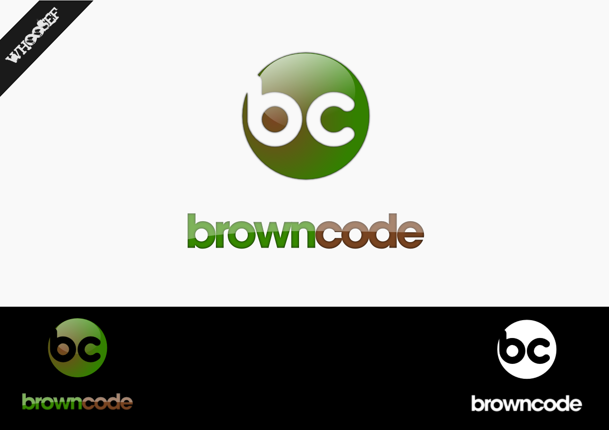 Logo Design by whoosef - Entry No. 36 in the Logo Design Contest New Logo Design for Brown Code.