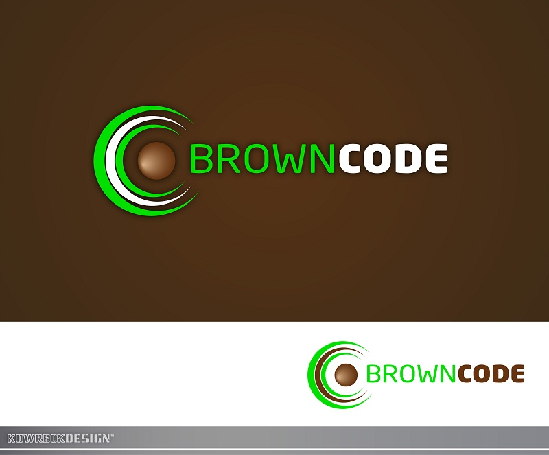 Logo Design by kowreck - Entry No. 37 in the Logo Design Contest New Logo Design for Brown Code.