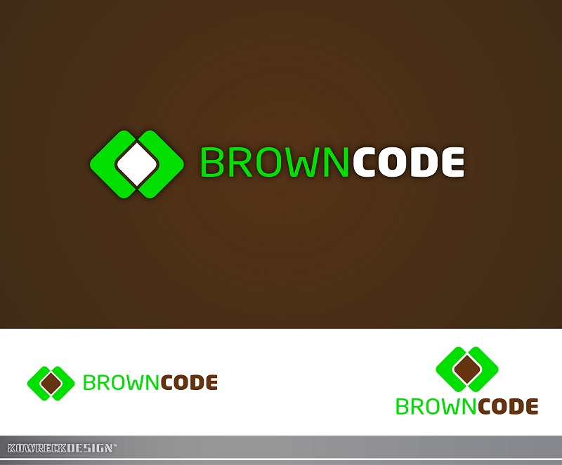 Logo Design by kowreck - Entry No. 38 in the Logo Design Contest New Logo Design for Brown Code.